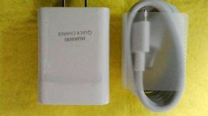 Cargador + Cable Tipo C Original Huawei P9 Carga Rapida