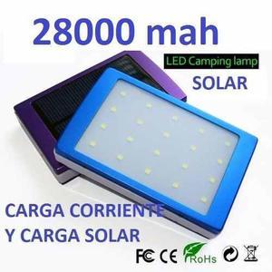 Cargador Solar De 28000 Mah Nuevo En Caja Por Mayor Y Menor