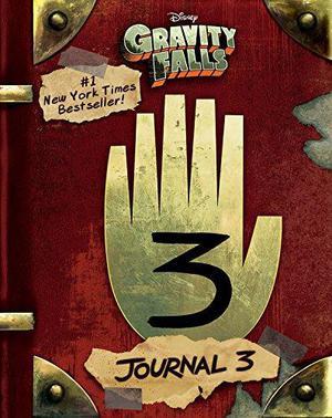 Gravity Falls Journal 3 edición en inglés tapa dura nuevo