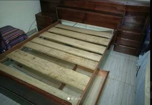 Juego De Dormitorio De Cedro De 2 Plazas