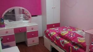 Juego De Dormitorio Niña Modelo Casita De Princesa