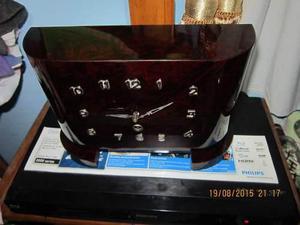 Lae Antiguo Reloj Carrillon Frances De Mesa Cuerda 8 Días