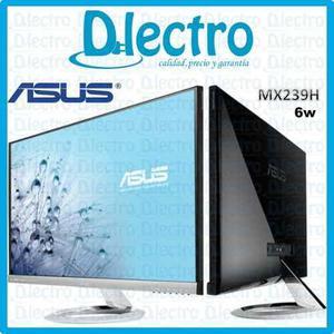 Monitor Led 23 Pulg Asus Full Hd 1080p Ips Panel Mod. Mx239h