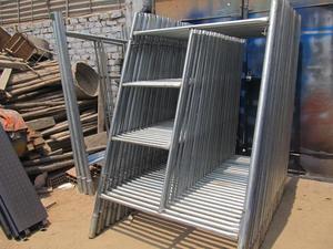 Andamio galvanizado, andamio para construcción, acrow,