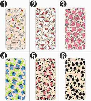 Case Acrilico Mickey Hello Kitty Snoopy Stitch Iphone 6 Y 6s