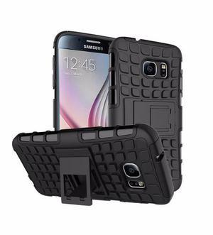 Case Armor Antishock Samsung Galaxy S7 + Vidrio Templado