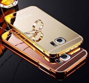 Case Bumper Aluminio Espejo Para Samsung Galaxy S7 Edge