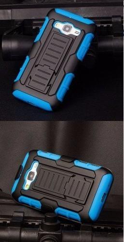 Case, Carcasa, Funda 3 Colores Con Gancho Samsung Galaxy J7