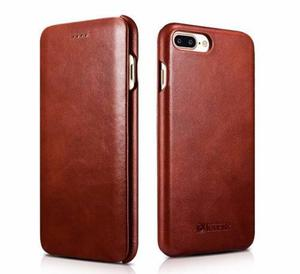 Case Flip Cover De Cuero Genuino Iphone 7,7 Plus,6 6s 6plus