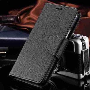 Case Funda Cuero Silicona Billetera Negro Samsung Galaxy S3