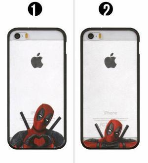 Case Funda Plastico Silicona Iphone 5 5s Se Deadpool