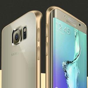 Case Luxury Borde De Aluminio Transparente Para Galaxy S7