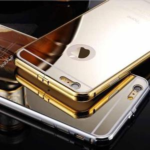 Case Protector Aluminio Espejo Lujoso Para Iphone 5/5s +mica