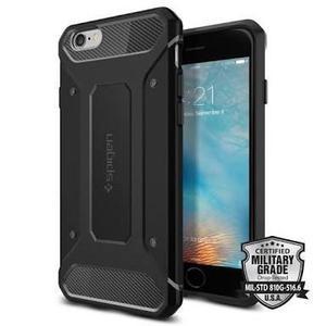 Case Protector Spigen Iphone 6, 6s Rugged Armor,envío