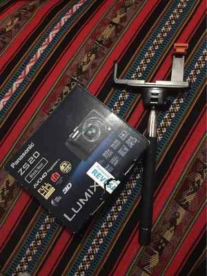 Cámara Digital Lumix De Panasonic Con Un Super Zoom