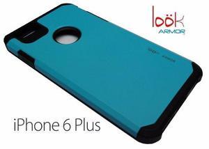 Cover Armor Anti-impacto Azul-celeste Iphone 6 Plus