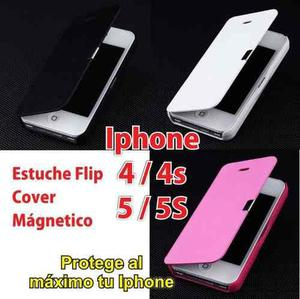 Estuche Case Flip Cover Iphone 4 4s 5 5s 6 6s Plus + Stylus