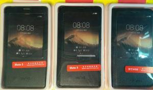 Flip Cover Con Sensor Huawei Mate 8 Color Negro Oferta