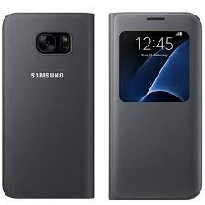 Flip Cover Original P/ Samsung Galaxy S7 Edge S View Cover