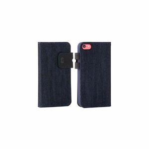 Flip Cover Protector Puregear Fabfolio Denim Para Iphone 5c