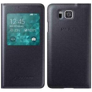 Flip Cover Samsung Galaxy Alpha A5 Blanco Original En Caja