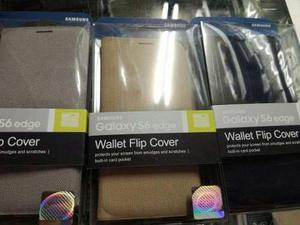Flip Cover Wallet Original Samsung Galaxy S6 Edge Sellado