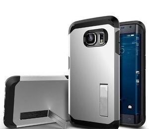 Funda Case Spigen Armor Samsung Galaxy S6 + Vidrio Templado