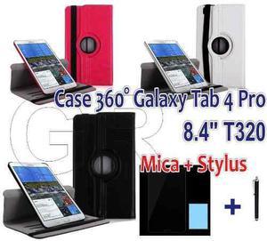 Funda Cuero Case Estuche Giratorio Para Galaxy Tab Pro 8.4