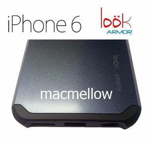 Funda Loök Armor Antishock Acero Iphone 6 Apple Protector