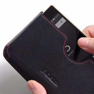 Funda Protector Pdair Cuero Genuino - Sony Xperia Z5
