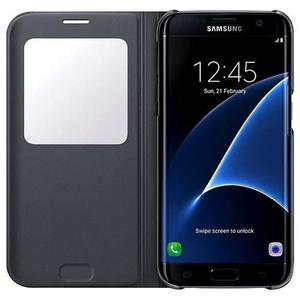 Funda Samsung Galaxy S7 Edge S-view Flip Cover 100% Original