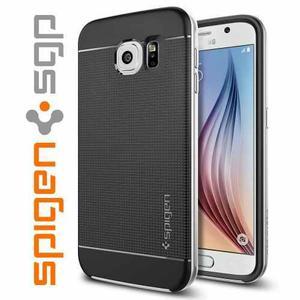 Galaxy S6: Case Funda Protector Spigen 100% Original+ Vidrio