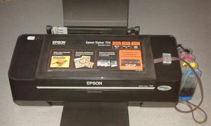 Impresora Epson T24 Con Sistema Continuo De Tintas