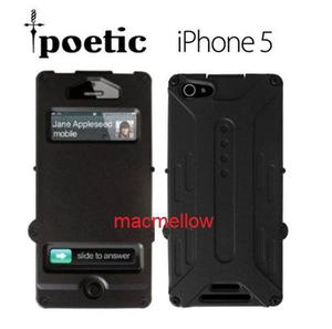 Iphone 5 5s Funda Poetic Protector Estuche Flip Cover Armor