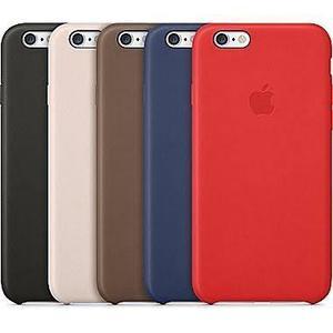 Leather Case Protector De Cuero Para Iphone 6 6splus En Caja