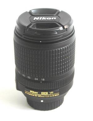 Lente Nikon Af-s Dx Nikkor 18-140mm Lente Vr Ed Nuevo