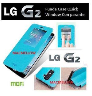 Lg Optimus G2 Funda Flip Cover + Mica + Instalacion Gratis