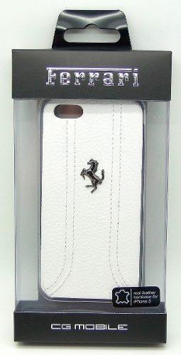 Protector Cover Ferrari Cuero Original Para Iphone 5/5s/se
