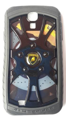 Protector Cover Modelo Llanta Lamborghini Para Samsung S4
