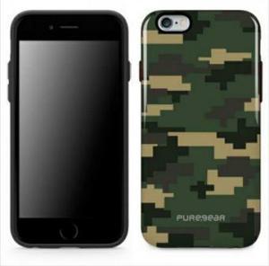 Protector Cover Puregear Camuflaje Para Iphone 6 Plus