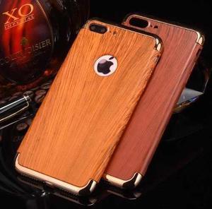 Protector Madera Iphone 6/6s Plus Funda Case Estuche