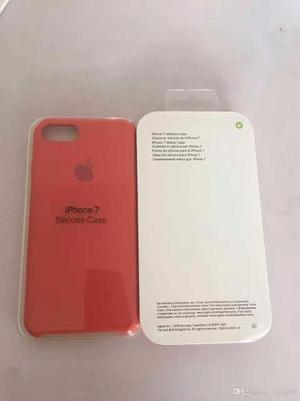 Protector Silicona O Cuero Con Logo Apple Iphone 6 Y 6 Plus