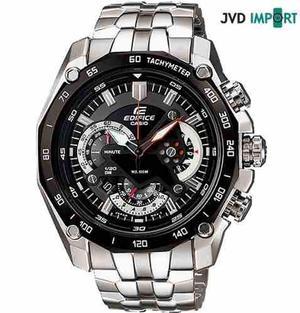 Reloj Casio Edifice Ef-550d-1av - 100% Nuevo En Caja
