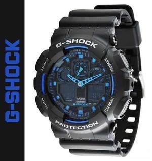 Reloj Casio G-shock Ga-100-1a2 - 100% Original En Caja