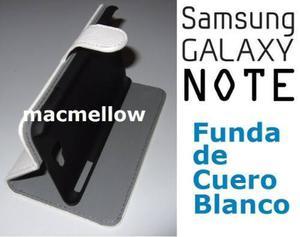 Samsung Galaxy Note 1 Funda Cuero Estuche Case Protector