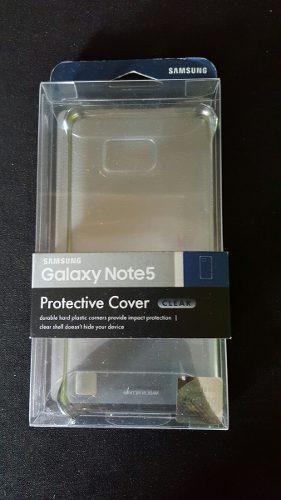 Samsung Galaxy Note 5 Clear Case Original Como Nuevo