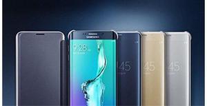 Samsung Galaxy S6 Edge Plus Flip Cover Clear Original