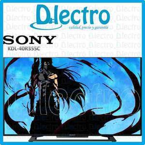 Televisor Sony 40 Led Full Hd Kdl-40r355c Nuevo Sellado