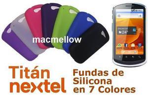Titan U8820 Nextel Funda De Silicona En 7 Colores Huawei