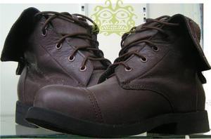 Botas Militar Hombre Zapatos, Calzado Seguridad Cuero Piel